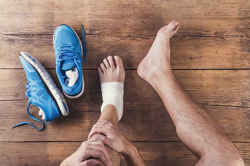 Ankle Sprains  Orange, TX